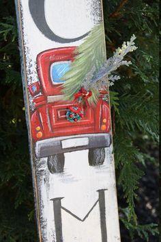 Grinch Christmas Decorations, Christmas Crafts To Make, Christmas Door Wreaths, Christmas Signs Wood, Christmas Porch, Rustic Christmas, Christmas Projects, Christmas Art, Christmas Ideas