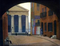 A London Church Robert Bevan (1922-1923) Private collection Painting – oil on cardboard