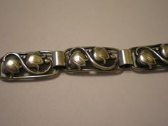Vintage 830 Silver Bernard Hertz Tulip Skonvirke by nettyonweb