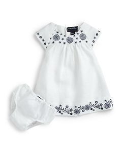 Oscar de la Renta  Infant's Embroidered Dress