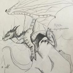 Wings Of Fire Dragons, Got Dragons, Fantasy Creatures, Mythical Creatures, Dragon Anatomy, Dragon Sketch, Fire Book, Dragon Pictures, Fire Art