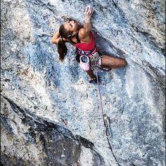 Camille Masseran falaise espagne #Spain#Catalonia#rockclimbing#beautifulcountry#motivated#gohard#climbing#planetgrimpe