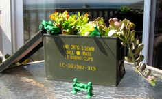 Ammo Box Planter