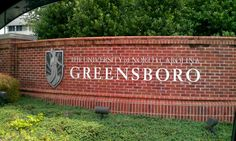 University of North Carolina at Greensboro in Greensboro, NC