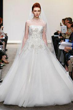 2014 Wedding Trend: 103 Fabulous Beaded Wedding Gowns   HappyWedd.com