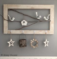 Hint....Dollar Tree has some really cute birds in stock right now, and you could use any scrap wood to do this project.