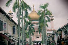 Sultan Mosque / Masjid Sultan @ arab street