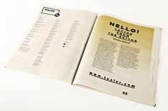 Magazine Design Inspiration - MagSpreads: Tealer Brand - Newspaper Margarida Borges