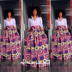 NEW Pazy Skirt with bow tie by THEAFRICANSHOP on Etsy, £45.00