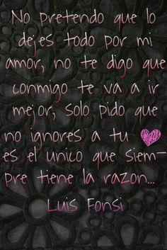 letras de cancion de tu amor luis fonsi: