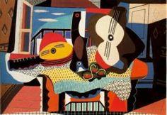 Picasso's Mandolin and Guitar