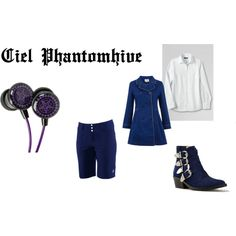 Ciel Phantomhive by mey-rin on Polyvore