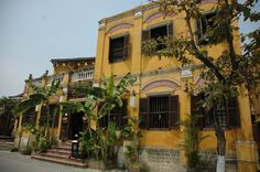 Colonial architecture in Hoi An