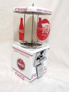 vintage Northwestern gumball machine COCA COLA open happiness original coin op in Gumball | eBay