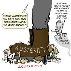 FDR and a question about austerity.