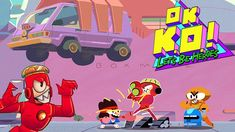 OK K.O Let's Play Heroes KO Knock Out By Darrell, Shannon At Lakewood Pl...