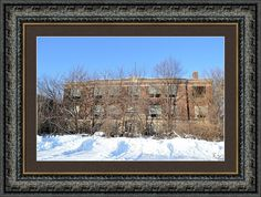 Lost School Framed Print By Bonfire #Photography
