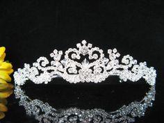 Swarovski elegance wedding tiara bridal by LejoliechatBridal, $53.00