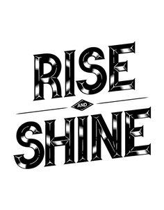 Rise & Shine on Behance