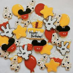 mickey  mouse birthday set
