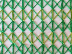 Sarah Whittle - Contemporary Embroidery Artist: Zigzag stitch