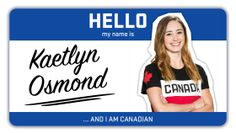 """""""Hello my name is…"""" is a series dedicated to learning more about some of Canada's top winter athletes ahead of. Kaetlyn Osmond, I Am Canadian, Olympic Team, Hello My Name Is, Winter Olympics, Figure Skating, Names, Canada, Learning"""