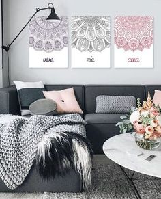 Teen bedroom themes must accommodate visual and function. Here are tips to create the coolest teen bedroom. Living Room Designs, Living Room Decor, Bedroom Decor, Home And Deco, Teen Bedroom, My New Room, Home And Living, Interior Design, Decoration