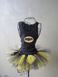For my next race. Runners Love Tutus Batgirl, via Etsy.