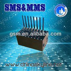 """8/16/32/64 ports gsm modem, sms modem, bulk sms sending modem pool airtel 3g data card"""