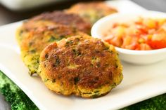 Greek Style Kolokithokeftedes Recipe (Squash Fritters Recipe) is a simple patty made from grated Zucchini and paneer.It makes a wonderful Tea TIme Snack. Squash Fritters, Zucchini Fritters, Hummus Recipe, Recipe Zucchini, Filling Snacks, Tea Time Snacks, Paneer Recipes, Cooking Instructions, Diet