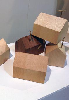 Like, share, repin :D   Enjoy    Salone Satellite 2013: House music boxes by Kenji Fukushima