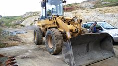 Caterpillar 924F year: 1996 hrs: 8000 original paint first owner road homologation and plate excellent