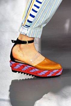 Braided soles :: Cool idea...