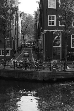 Amsterdam....I remember wandering the canal and bridge filled streets. A beautiful place with unique buildings.xx