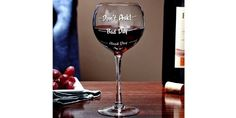 """""""How Was Your Day"""" Wine Glass For $13 @ Amazon.ca http://www.lavahotdeals.com/ca/cheap/day-wine-glass-13-amazon/87886"""
