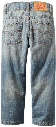 Amazon.com: Levi's Boys 2-7 505 Regular Jean: Clothing