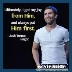 Josh Turner on his relationship with God!