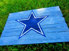 Dallas Cowboys Rustic Sign by TheSignsOfEveryTime on Etsy, $28.00