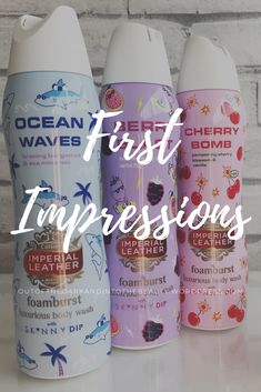 First impressions of the newest Imperial Leather x Skinny Dip Foamburst range! Thing 1, Best Blogs, Bath Time, Body Wash, Dip, Blogging, Cherry, The Creator, Range