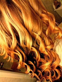 I can now do this with my new curling wand!