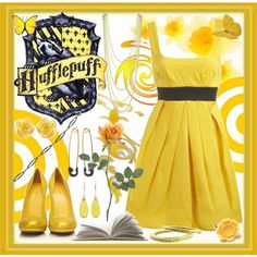 Hufflepuff Inspired Outfit