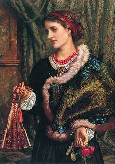 Archivo: William Holman Hunt - El Birthday.jpg