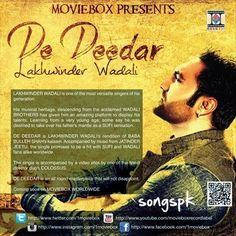 De Deedar - Lakhwinder Wadali Mp3 Song Download