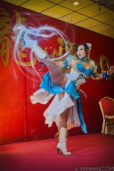 Chun Li's High Kick by yayacosplay.deviantart.com