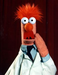 The Muppets on - Jim Henson - Feierlichkeiten Jim Henson, Elmo, The Muppets Characters, Fictional Characters, Beaker Muppets, Fraggle Rock, The Muppet Show, Miss Piggy, High Pictures