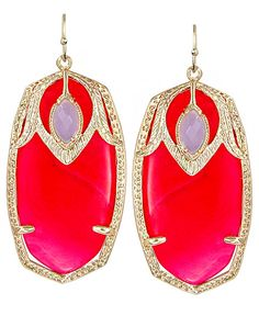 Kendra Scott Darby Earrings… they even have my name!! I must have them