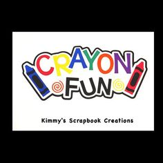 A personal favorite from my Etsy shop https://www.etsy.com/listing/497192598/crayon-fun-scrapbook-title-premade-paper