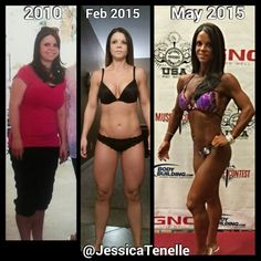 I struggled with weight gain after having my daughter,  I'm proud to say that with hard work, dedication & determination I'm now in the best shape of my life.  Just competed in my first figure competition.   Follow JessicaTenelle on Instagram for daily fitness motivation and tips.