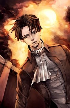 Levi from Attack on Titan (Shingeki no Kyojin)