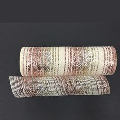 Browse our Ivory Burlap Rose Gold Metallic Stripe Mesh Roll, as well as other Deco Poly Mesh® Burlap & Paper Bold/Thin Stripe, Stripe Colors at Trendy Tree. Deco Mesh Wreath Supplies, Deco Mesh Crafts, Deco Mesh Wreaths, Door Wreaths, Rose Gold Christmas Tree, Mesh Christmas Tree, Christmas Crafts, Easy Crafts To Make, Diy Arts And Crafts